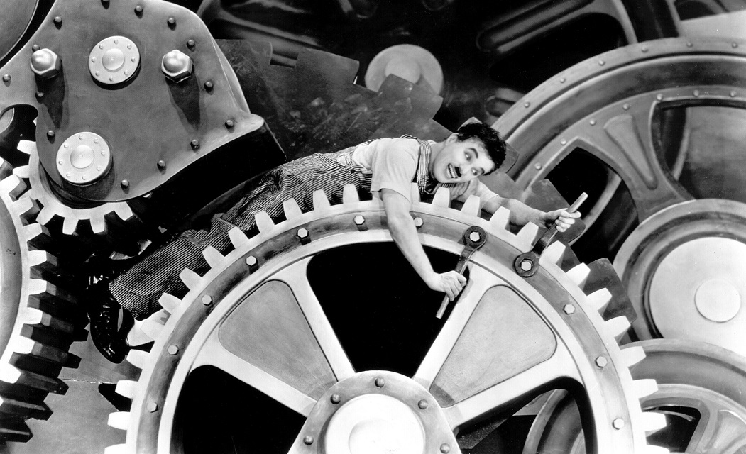 Image result for modern times charlie chaplin
