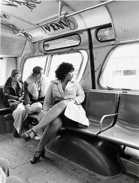 Bus interiors of the 1970s and 1980s were different to today's