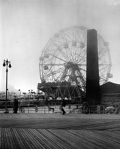 Une image de Wonder Wheel à Coney Island