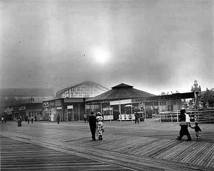 La promenade de Coney Island