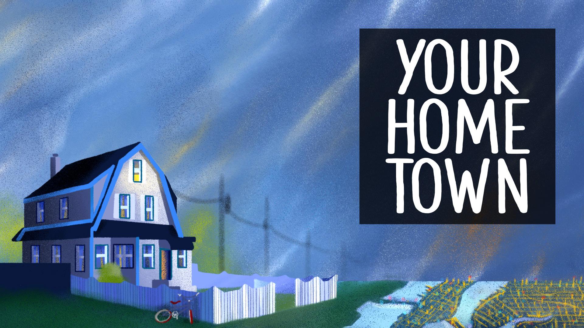 Le graphique de votre ville natale