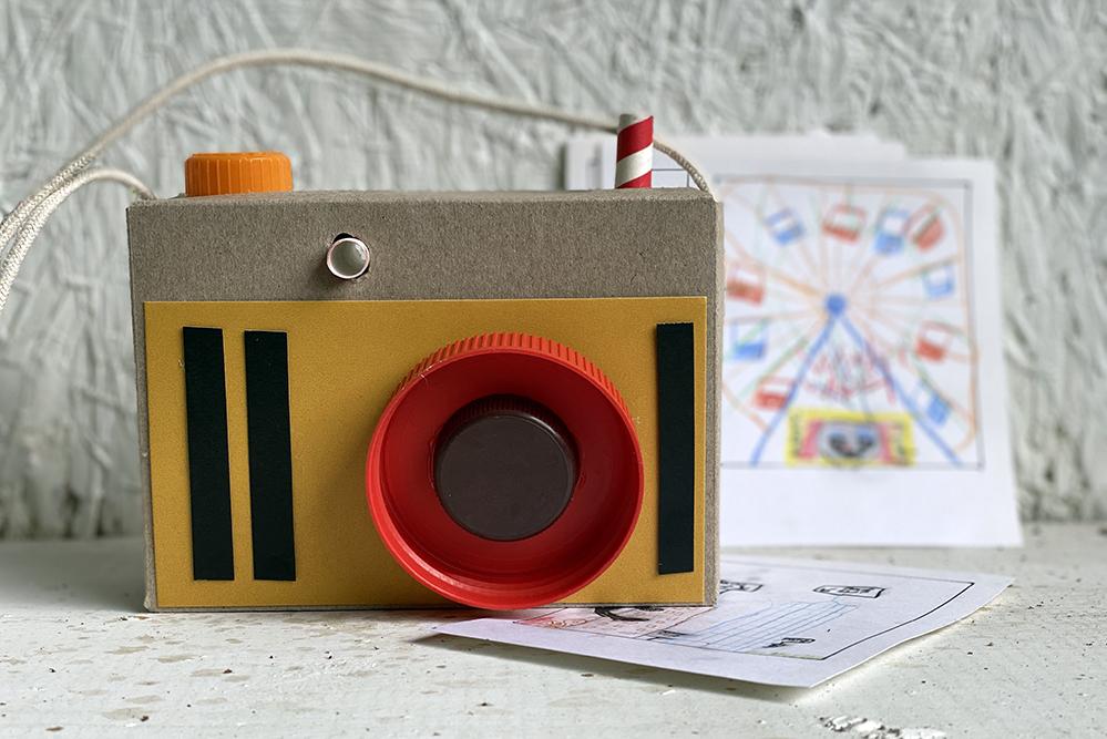 """纸板""""相机"""""""