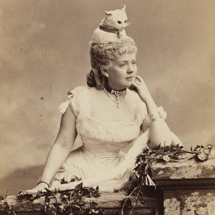 Mora (b. 1849). Miss Kate Fearing Strong (later Mrs. Arthur Welman).