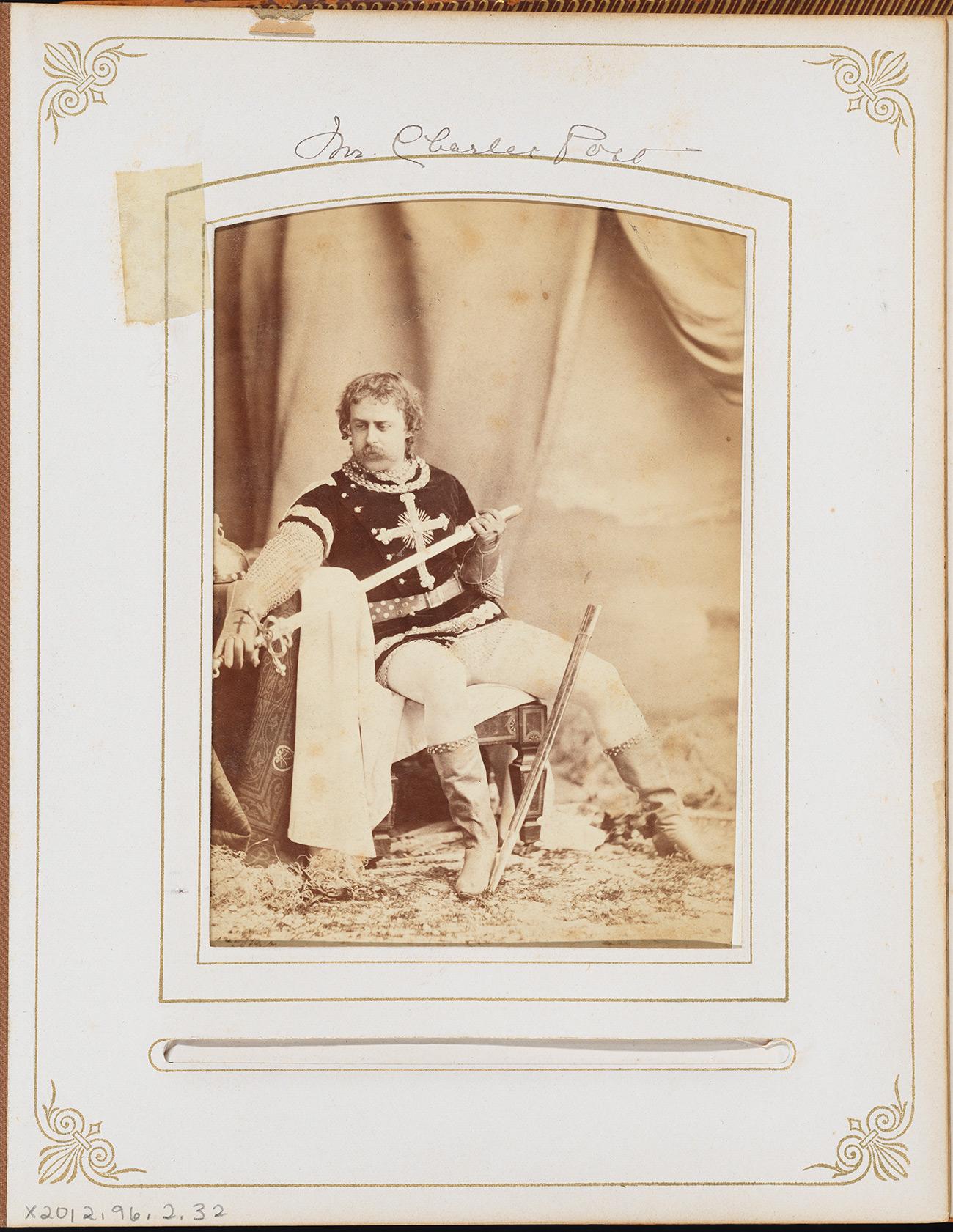 モーラ(1849年)。 チャールズ・ロス氏。