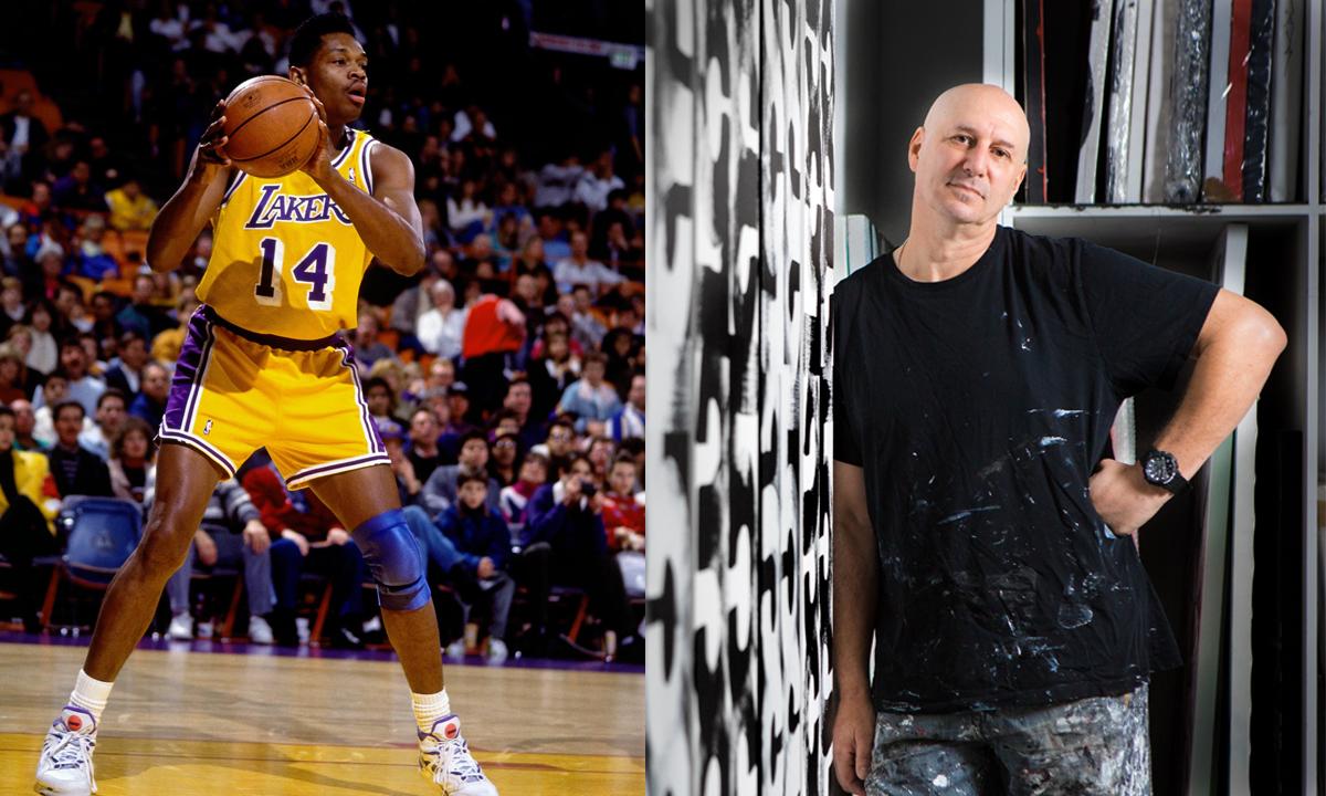 Image, à gauche: avec la permission de la NBA; Image de droite: avec la permission d'Eric Haze
