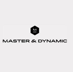 Master & Dynamic 로고