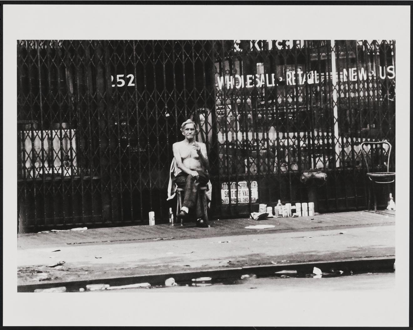 Leland Bobbé, The Bowery, 1974