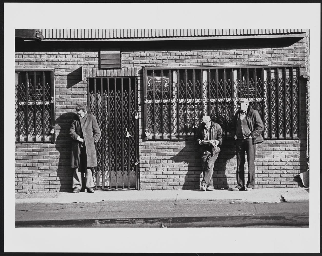 Leland Bobbé, El Bowery, 1974