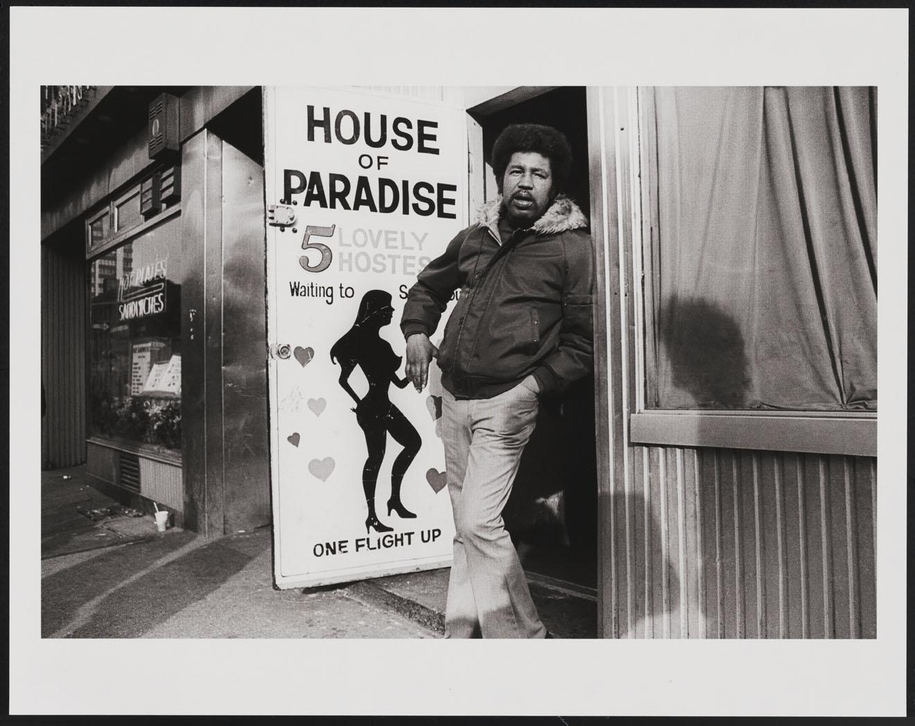 Leland Bobbé, Casa do Paraíso, Times Square, 1976