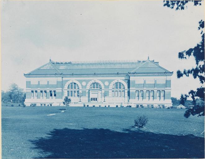 El museo metropolitano, ca. 1878. Augustus Hepp