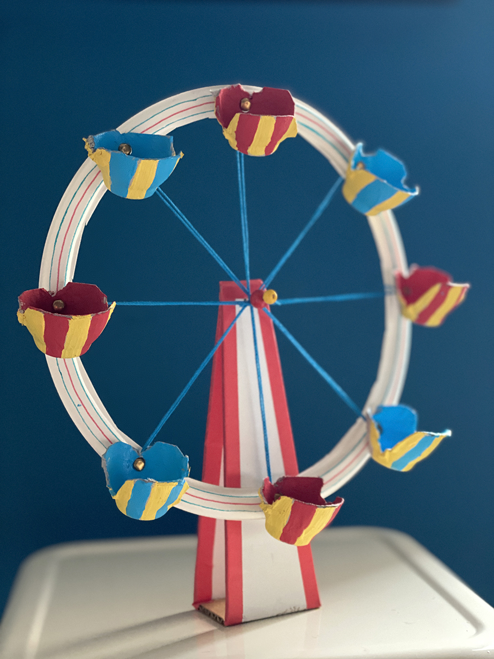 Modelo Wonder Wheel creado por Amanda Kingloff, fundadora de PROJECT KID