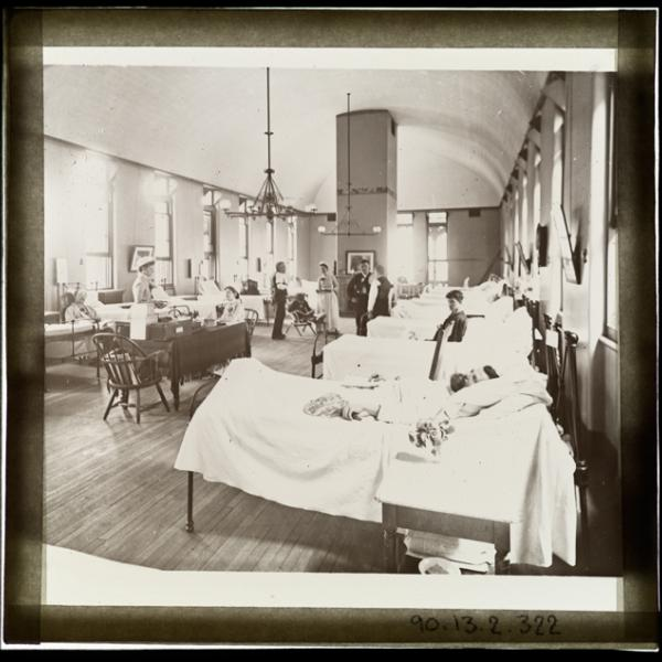 As this year's flu season begins, we reflect on the 1918 influenza pandemic and other contagious diseases the city has had to contend with.