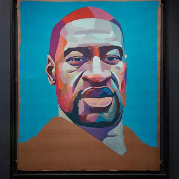 ジョージフロイドの肖像
