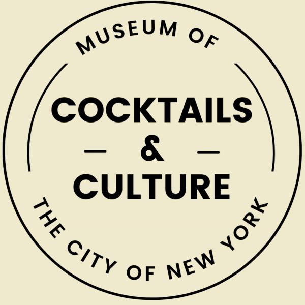 Logotipo de coquetéis e cultura