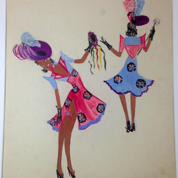 "A museum photo by Frances Feist of ""The Reverse, Cotton Club"" taken between 1937- 1939."