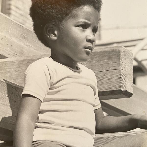 Une photo d'enfance de Lynn Nottage