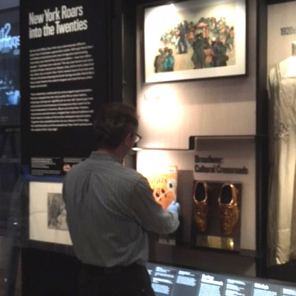 "A photo of the museum's ""Deinstallation in World City Gallery"" taken by Miranda Hambro in 2018."