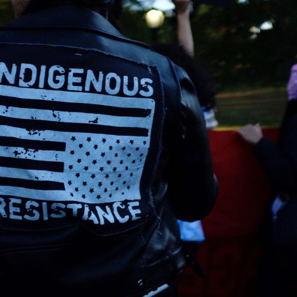 Photo de la résistance indigène
