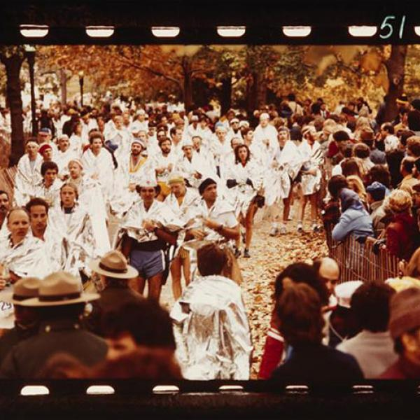 The girls ran a mini marathon, not the New York City Marathon, but remember to cheer for this year's Marathon runners!