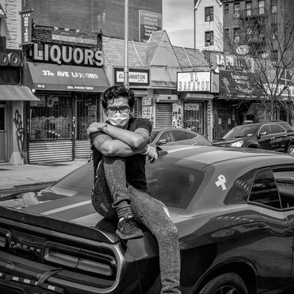 """Mitchell Hartman, """"Desafiador"""" 2020 © Mitchell Hartman"""