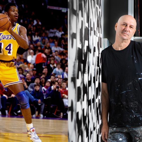 Imagem à esquerda: Cortesia da NBA; Imagem à direita: Cortesia Eric Haze