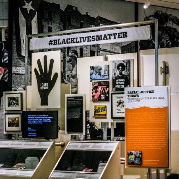 Image from the Activist exhibition at MCNY