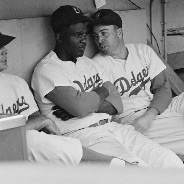 Jackie Robinson and Duke Snider, 1953 Photograph by Kenneth Edie Museum of the City of New York, The LOOK Collection. Gift of Cowles Magazines, Inc.
