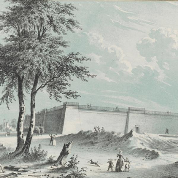 Augustus Fay. Croton Reservoir. ca. 1850. Museum of the City of New York. 29.100.1525