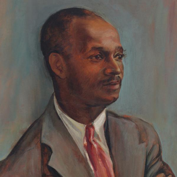 Yun Gee (1906-1963). Dr. Aubre de l. Maynard, 1942. Museum of the City of New York, 2000.53.1.