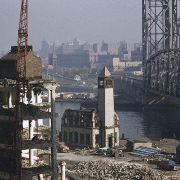 Arthur Rothstein (1915-1985), John Vachon (1914-1975), Phillip Harrington (1920-2009), LOOK Magazine. New York in the Summertime [Times Square at night.], 1949. Museum of the City of New York. X2011.4.11125.96