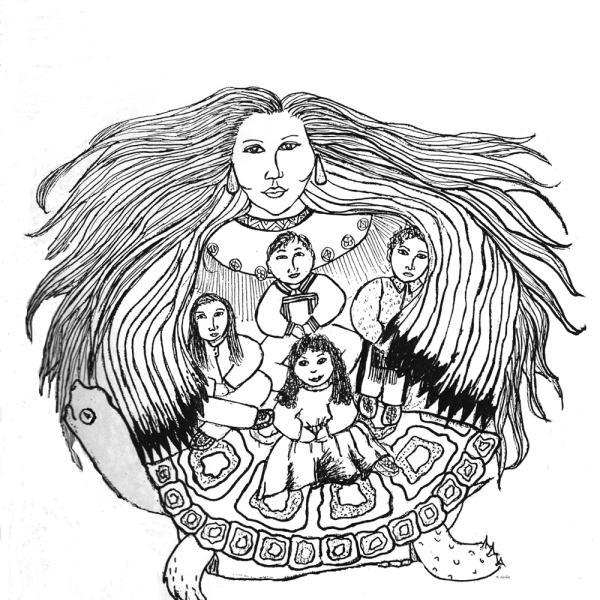 Cortesia do Centro Cultural Infantil da América Nativa