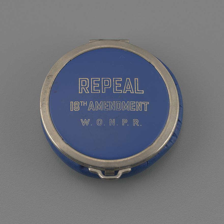 """""""Repeal 18th Amendment W.O.N.P.R."""" Makeup Compact"""