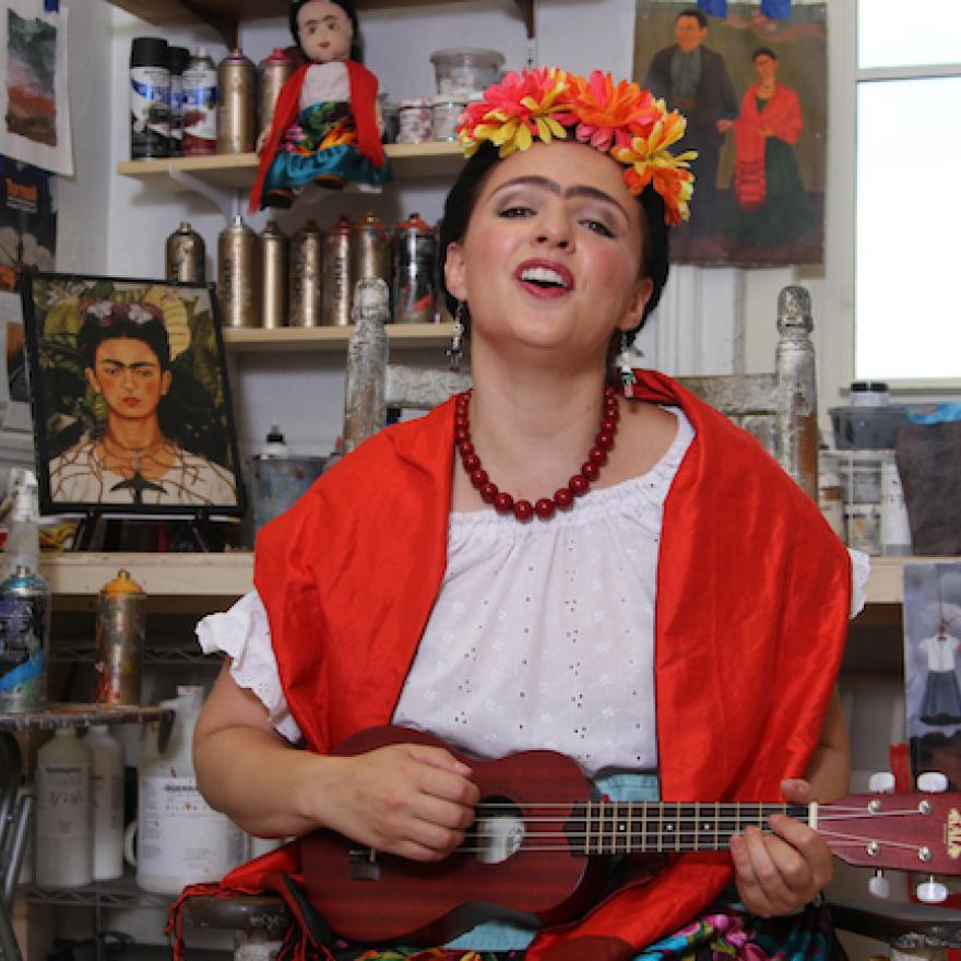 """Photo of Teatro SEA's """"The Colors of Frida 