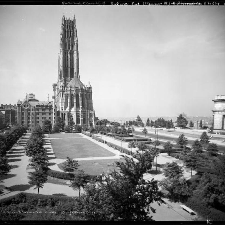 강변 교회 및 사쿠라 공원