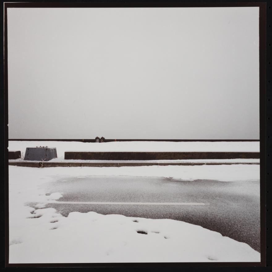 Jan Staller, West Side Highway Dusted with Snow, 1977. Museu da Cidade de Nova York, 2015.5.28