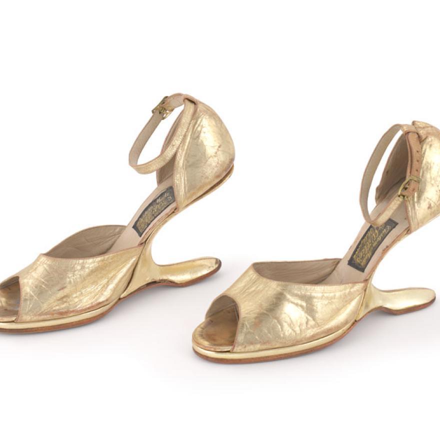 shoes worn by Celia Cruz