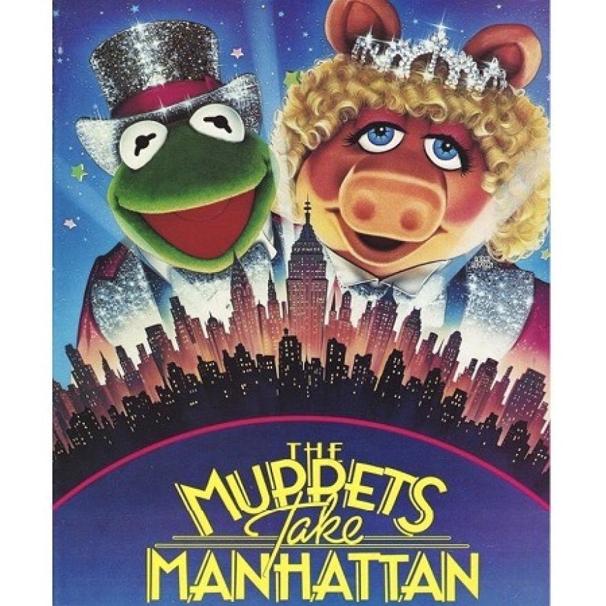 "Affiche du film ""Les Muppets prennent Manhattan"" (1984)"