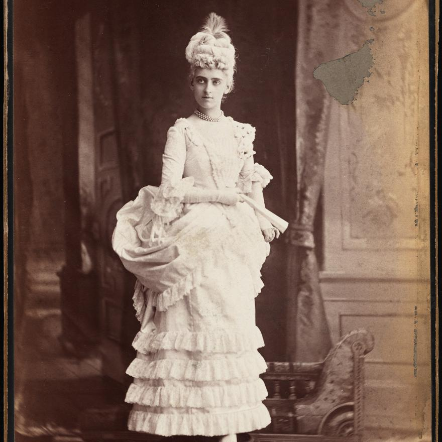 Mora (b.1849). Miss Henrietta Strong (later Mrs. Daniel E. Fearing).