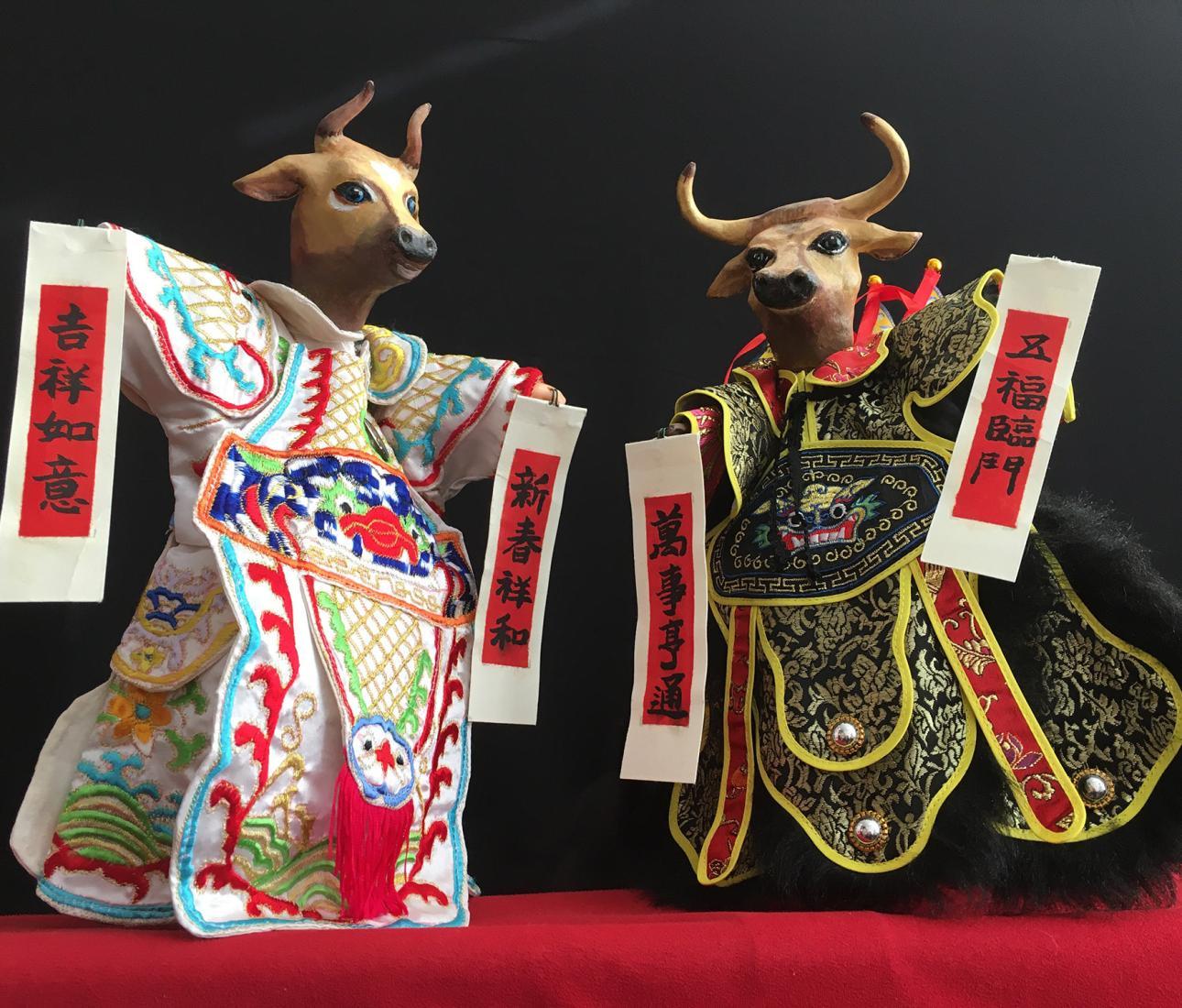 """""""HAO BANG-AH!"""" Programa de fantoches de mão para famílias com obras de teatro chinês"""