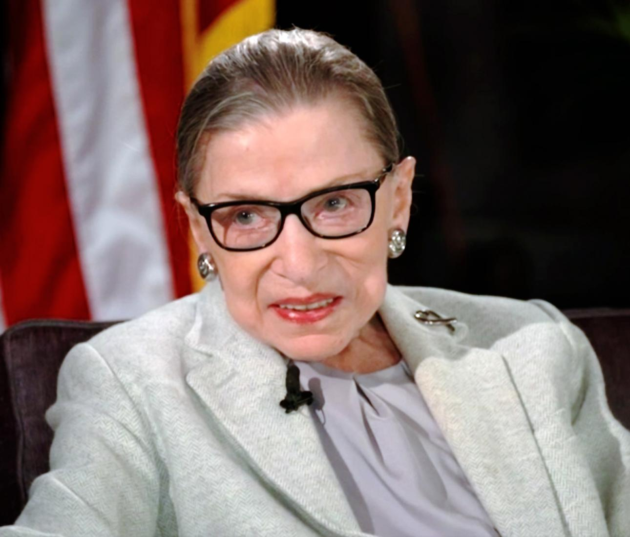 Justice Ruth Bader Ginsburg In Conversation