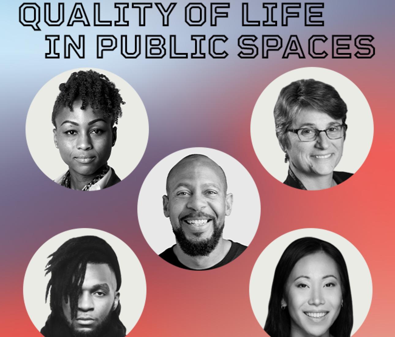 """Reimaginando """"Qualidade de Vida"""" em Espaços Públicos"""