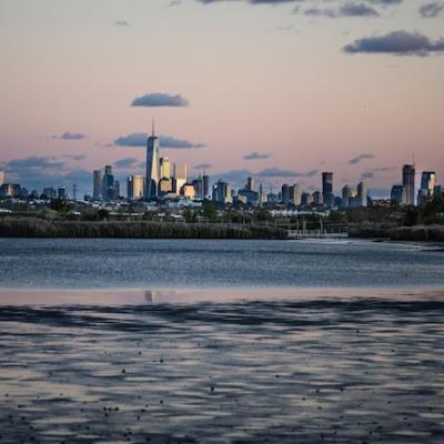 Nova York dos pântanos ao redor do rio Hackensack em Nova Jersey]