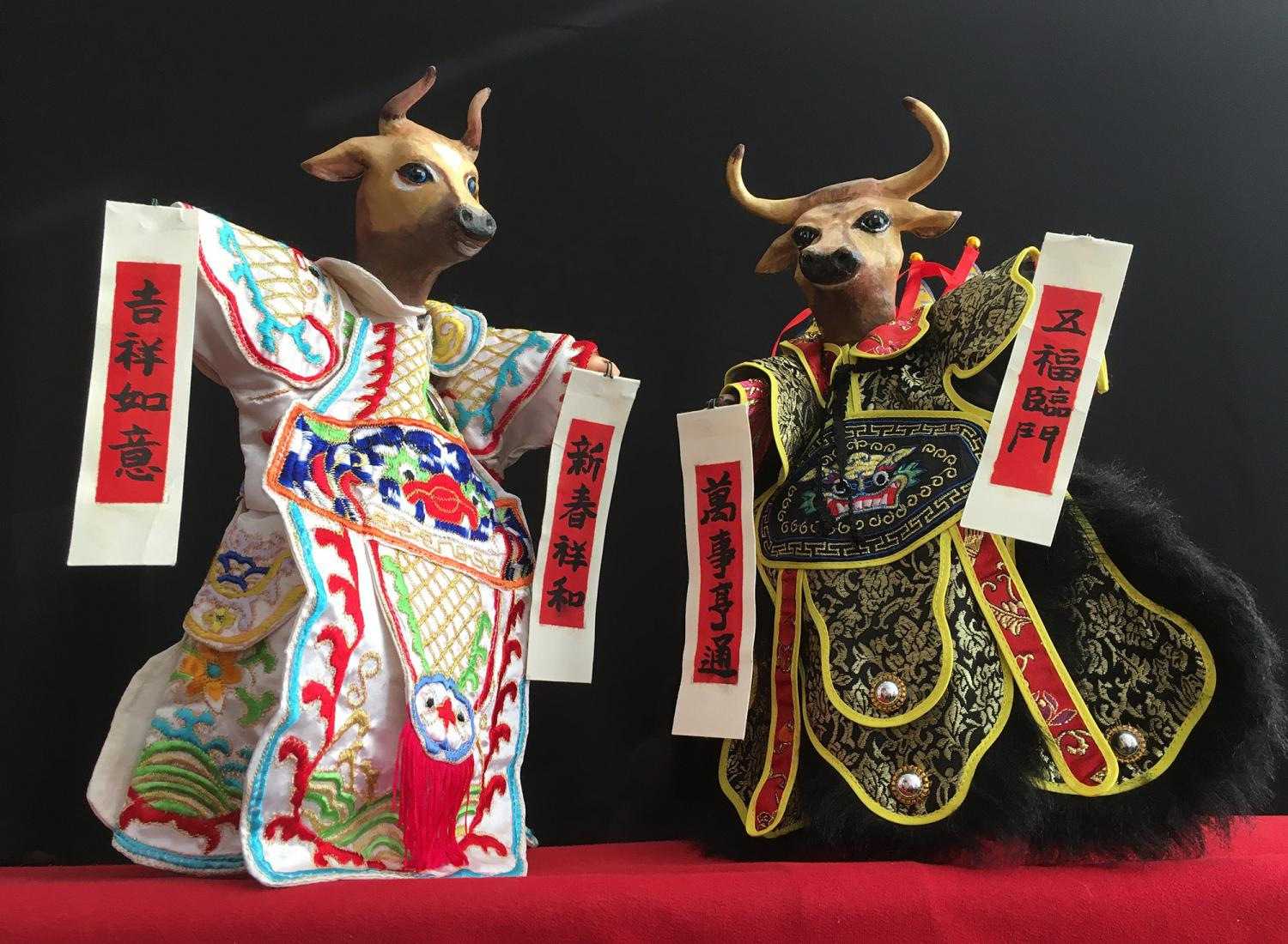"""Photo of Chinese Theatre Works 2021 Hand Puppet show """"Hao Bang Ah, Ox!"""". Every year, CTW creates a new traditional Hand Puppet Show of the Zodiac."""