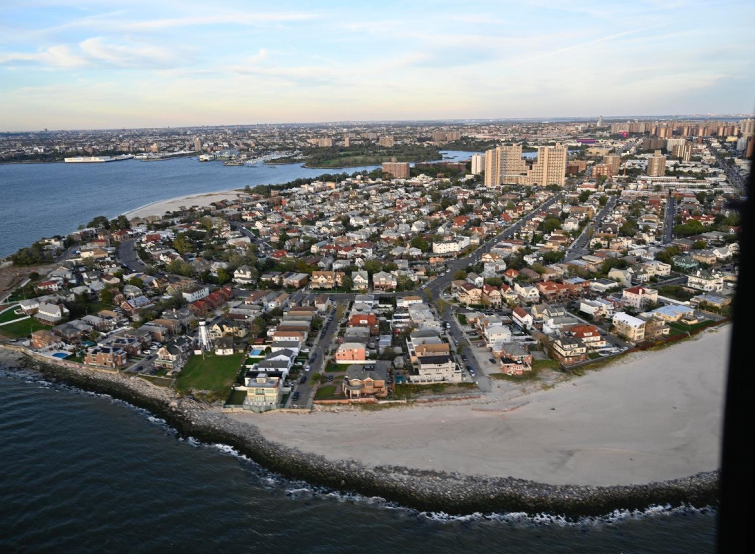 The Rockaways in the aftermath of Hurricane Sandy.
