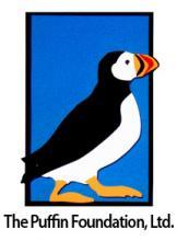 logotipo 10 do puffin