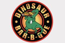 恐龙Bar-b-que徽标
