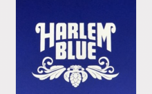 哈林蓝网站徽标