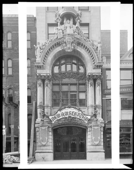 214 West 42nd Street. New Amsterdam Theatre, ca. 1900. Museum of the City of New York, X2010.7.1.195